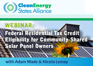 CESA Federal Residential Tax Credit Webinar